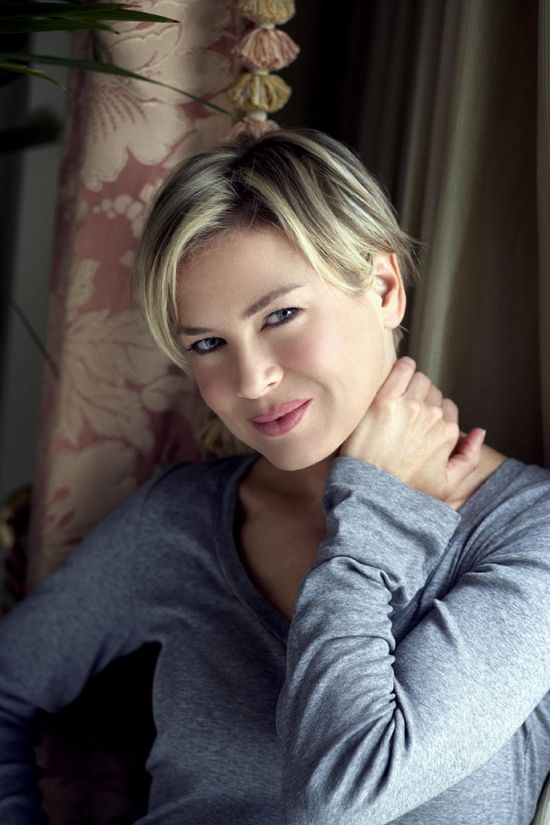 Renee Zellweger. Watch her in: Jerry Maguire, The Bachelor, Chicago, Cold Mountain, Cinderella Man, Miss Potter, Leatherheads, New in Town