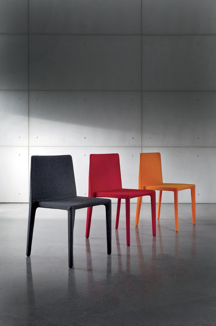 One #chair, infinite solutions: PURA. Designed by Gianluigi Landoni. #interior #decor #design #sovetitalia #sovet