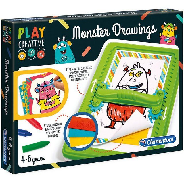 Play Creative – Gestalte lustige Monster – OTTO