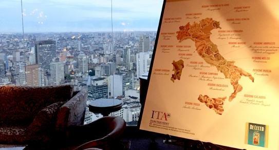 Saluti da San Paolo! #DeCecco sponsor della Settimana della Cucina regionale italiana in Brasile! Greetings from São Paulo! #DeCecco sponsor of the Week of Italian Cuisine in Brazil!