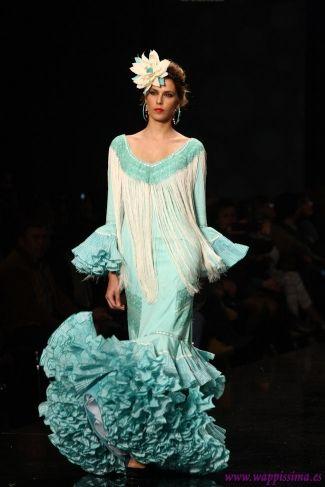 Traje de Flamenca - Arte-y-Compas - SIMOF-2013
