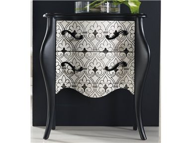 Shop For Hooker Furniture Black U0026 White Accent Chest, 638 50093, And Other