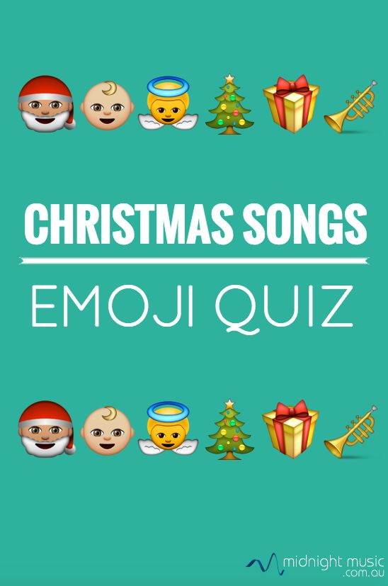 """The Christmas Song Emoji Quiz! In late 2016, I noticed that a post in the Music Teachers Facebook group was getting a lot of attention. Teacher Krista Reeder invited everyone to take part in a game of """"guess the Christmas song"""" by using only emojis to depict the title. A couple of hundred comments later, there ended up being quite a decent list of emoji songs!  Worksheet version for students I thought it might be useful to collect them and put them into a worksheet format for stud"""