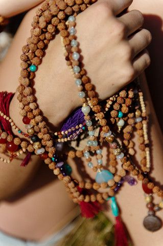 how to make mala beads