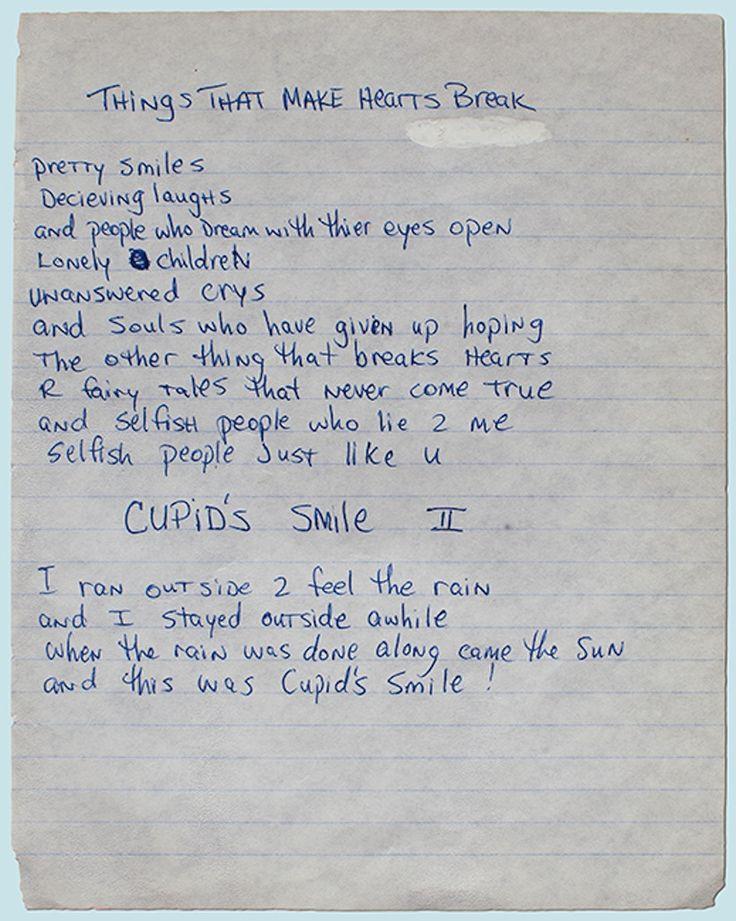 "POEM: ""Things that make hearts break"" by Tupac Shakur"