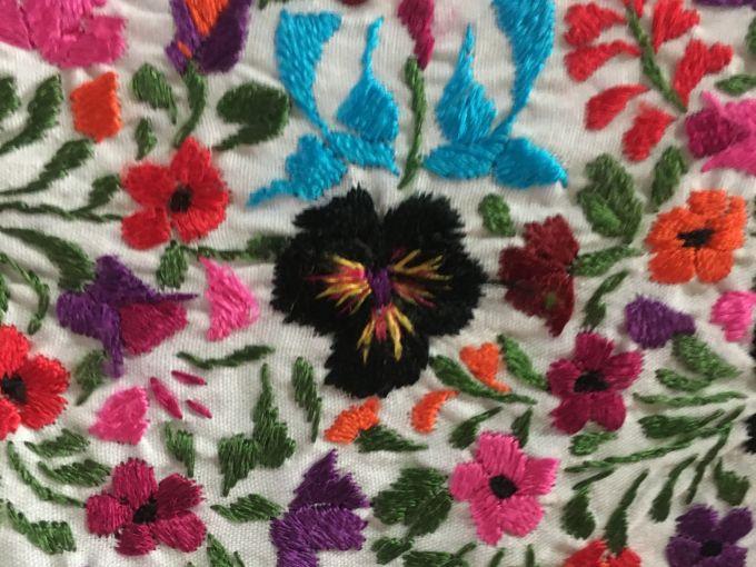 色が溢れるパラダイス、メキシコ~可愛い刺繍天国オアハカ編~