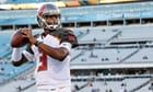 NFL looking into claim that Tampa Bay's Jameis Winston groped Uber driver    NFL investigating claim that quarterback grabbed driver's crotch in 2016BuzzFeed News was first to report league's investigation into incidentWinston categorically denies 'false report' in sta   https://www.theguardian.com/sport/2017/nov/17/jameis-winston-nfl-uber-grope-allegation