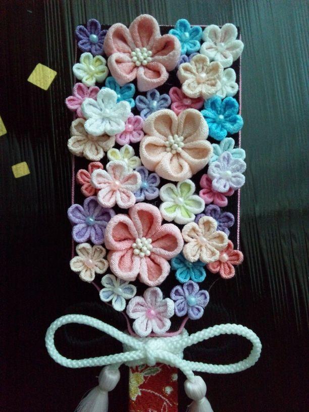 花いっぱいの羽子板【送料無料】