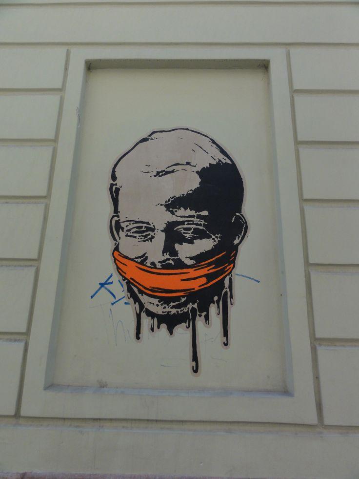 Graffiti, egy a három közűl...