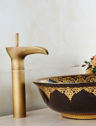 grifo+de+lavabo+del+baño+en+el+estilo+vintage+latón+antiguo+baño+grifo+del+fregadero+de+altura+–+EUR+€+63.62