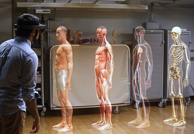 A new technology allows providers and students to move a holographic model of the body and peer into it from angles that even the most experienced surgeons can only see in their wildest dreams.