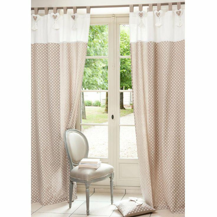 Polka dot curtain - sold individually