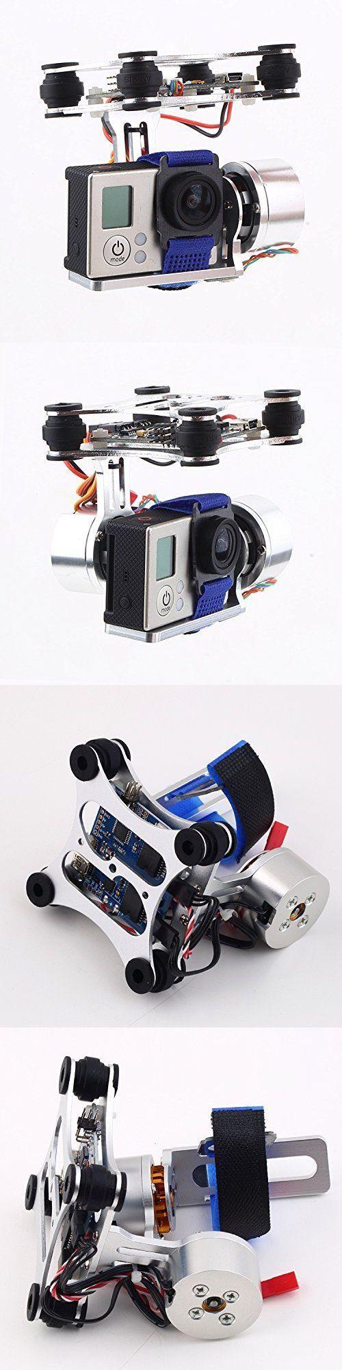 Radio Control 51029: Dji Phantom Gopro 2 3 Cnc Metal Brushless Camera Gimbal W V2.3B5 Controller -> BUY IT NOW ONLY: $40.2 on eBay!