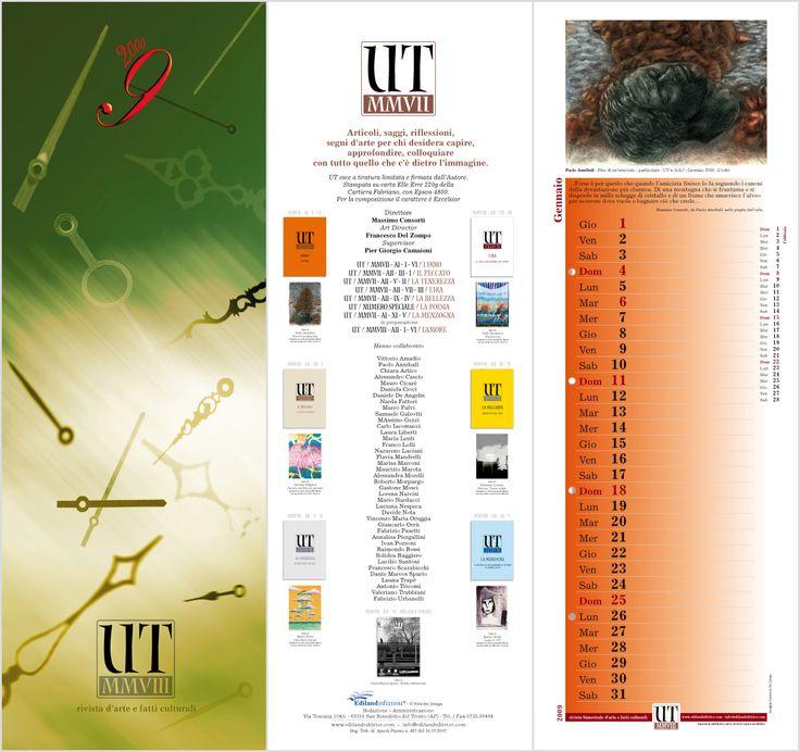 Calendar UT magazine, Francesco Del Zompo