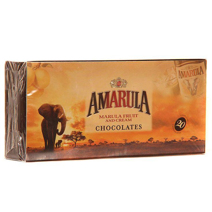 box of 20 amarula chocolate truffles by ocean blue candy | notonthehighstreet.com