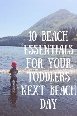 10 Beach Essentials for Your Toddlers Next Beach Day - Anchored Mommy |Beach Essential| |Beach Day| |Beach with Toddler| |Beach with Kids| |Toddler Beach Day|