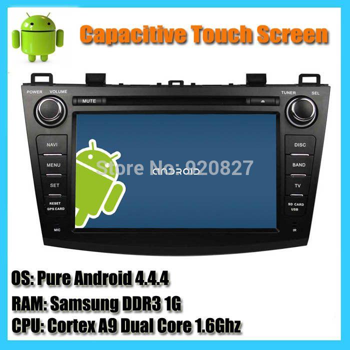 1024*600 Android 5.1 Quad Core 1 Г игрок автомобиля DVD GPS Для MAZDA 3 2009 2010 2011 2012 Емкостной Автомобиль Аудио Радио Bluetooth WI-FI