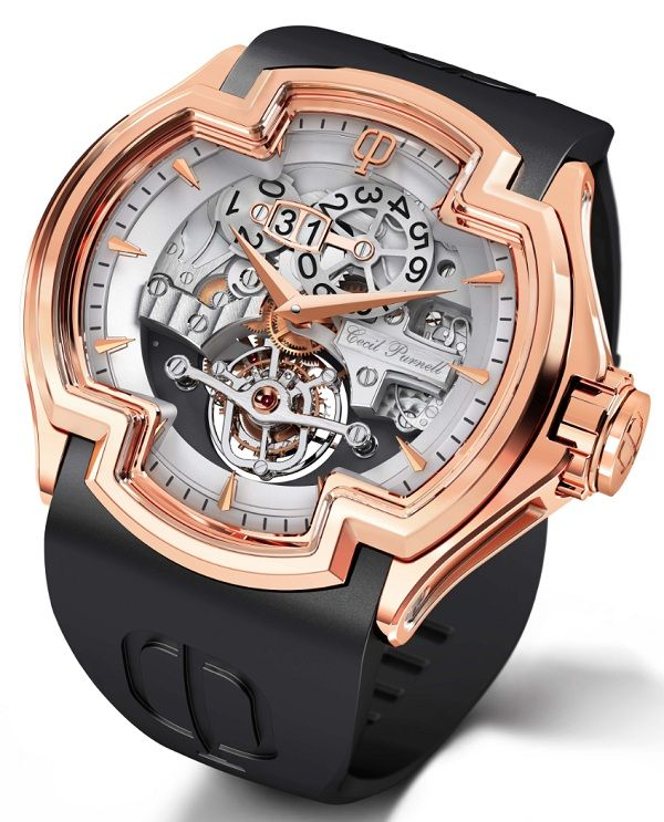 Cecil Purnell La Grande Date Tourbillon Watch