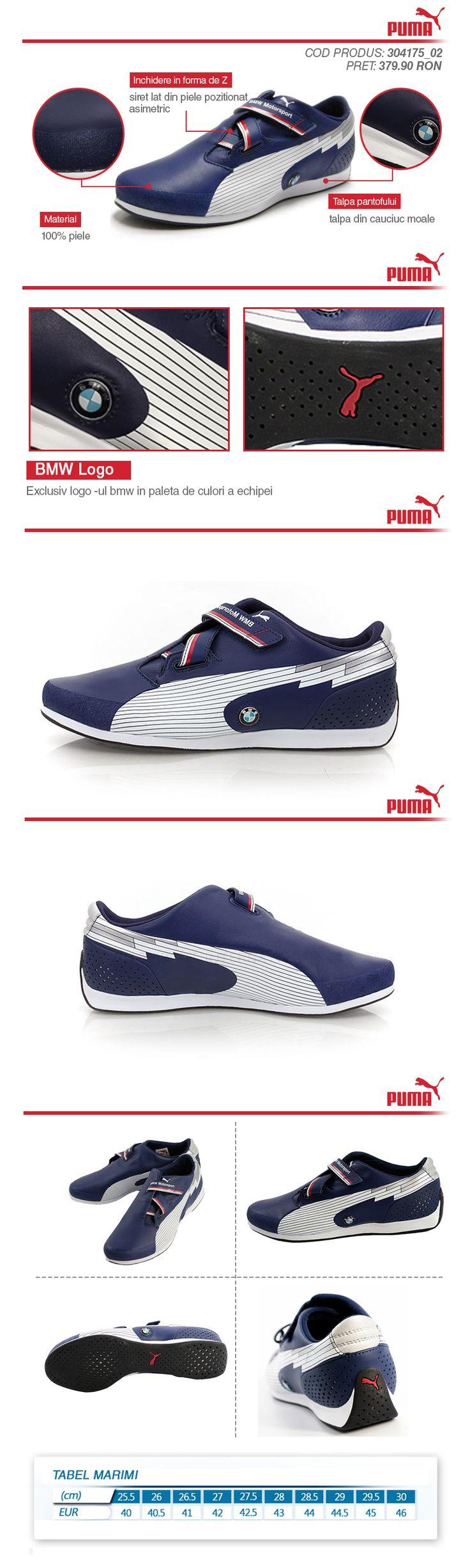 http://www.zorilestore.ro/pantofi-sport-barbati-puma-evospeed-f1-low-bmw-m-304175_02  EVOSPEED F1 LOW BMW face parte din noua colectie BMW Motorsport, este un model care revolutioneaza sportul prin viteza. Partea superioara este confectionata 100% din piele de calitate si adaosuri din material textil.