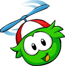 The green puffle is one of my favourites it loves playing jet pack adventure and can be bought from the pet store for members only.