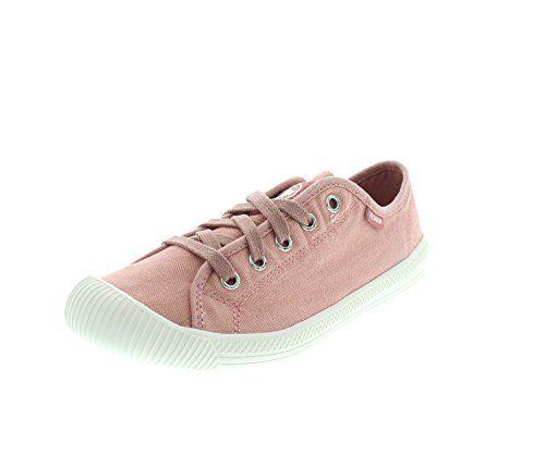 PALLADIUM FLEX LACE Damen Schuhe Turnschuhe Sneaker Komfort Orange Gr 35 5