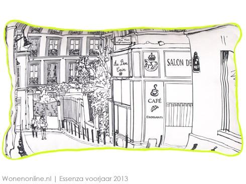Voor Spring Summer 2013 biedt het toonaangevende Nederlandse homestyling merk ESSENZA een overdaad aan keuze uit verrassende, eigentijdse stijlen. De veelzijdige collectie is verdeeld over de labels ESSENZA Trend, ESSENZA Design, ESSENZA Casual en ESSENZA Essenzials. #slaapkamer #bedtextiel #slaapkamertrends #interieur