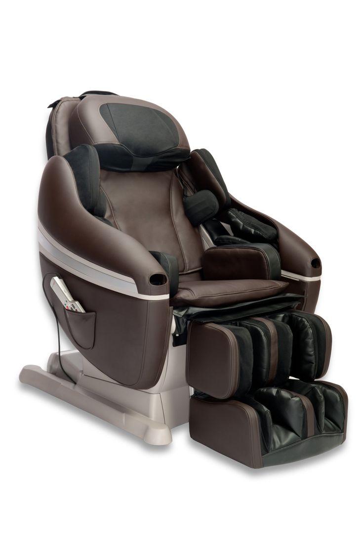 Inada Sogno Dreamwave Massage Chair, Dark Brown