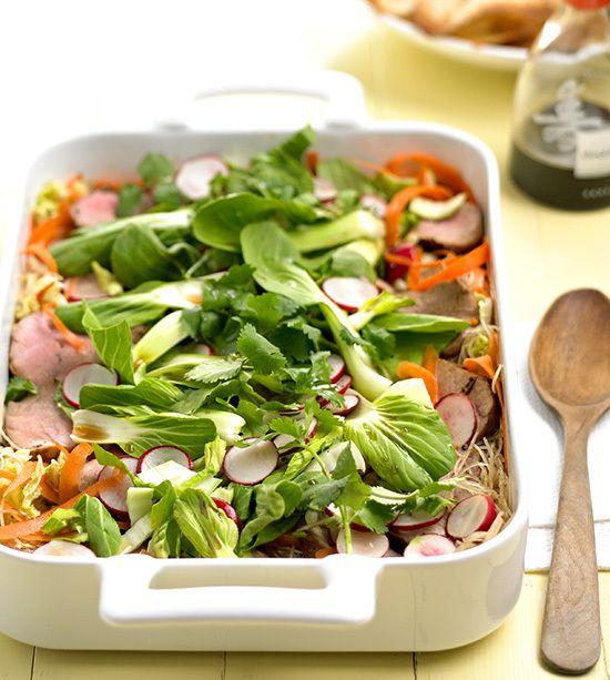 Pork and Noodle Salad