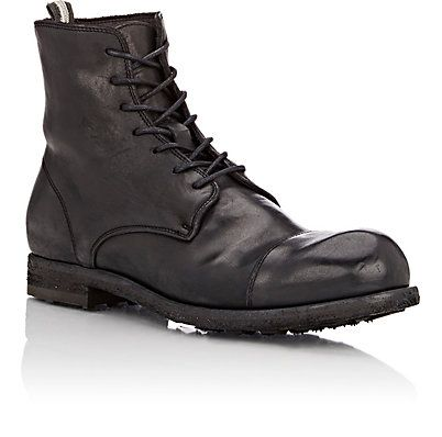 Christian- $615 Officine Creative Cap-Toe Double Boots - Boots - Barneys.com