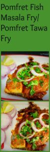 Pomfret Tawa Fry Recipe Or Fish Tawa Fry Recipe