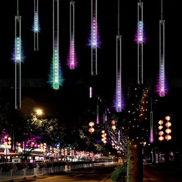 20/30/50 CM Cortina de la Secuencia del LED Luces De Navidad Al Aire Libre Luces de La Decoración LED Barra de Luces para Fiesta de bodas Cadena de luz Al Aire Libre