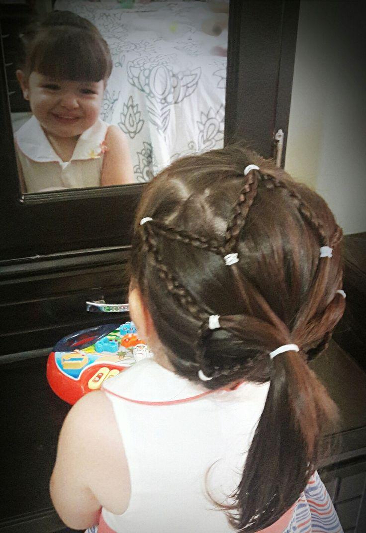 Hermoso peinado, sencillo y glamuroso!