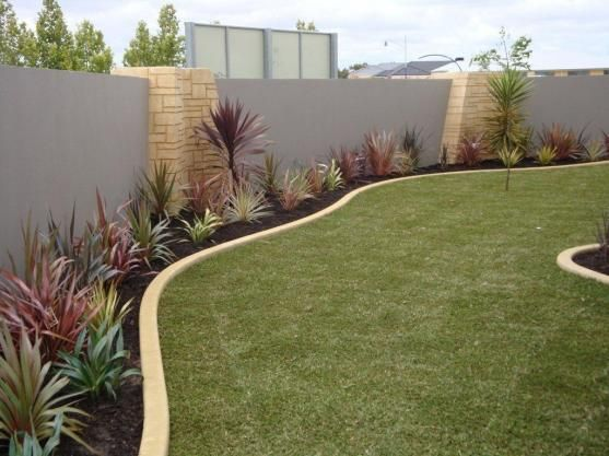 551 best garden edging ideas images on pinterest for Back garden designs australia