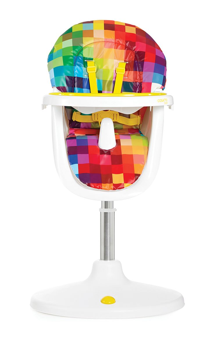 best children´ s high chair images on pinterest  high chairs  - pixelated design on super cool high chair by british brand cosatto sign me
