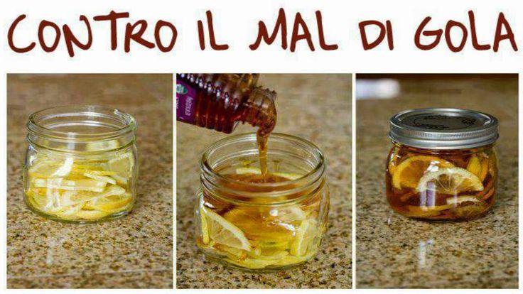 (a.c): una bomba vitaminica... non solo contro il mal di gola  Mal di gola - Invece di prendere farmaci, che fanno diminuire le difese naturali. versare il tè in un barattolo e arricchirlo con fette di limone, fettine di zenzero e miele. Chiudere il contenitore e metterlo in frigorifero. Si solidificherà tipo gel. Per servire, prendere una cucchiaiata di questa gelatina in una tazza e versare sopra acqua bollente. Conservare in frigorifero. Consumare entro 2-3 mesi. E' un nettare contro i…