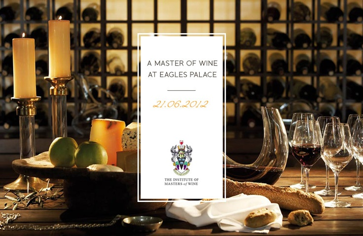 A Master of Wine at Eagles Palace  www.eaglespalace.gr