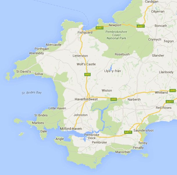 The Pembrokeshire coast path covers 186 miles, view our interactive coastal path map and plan your walking journey.