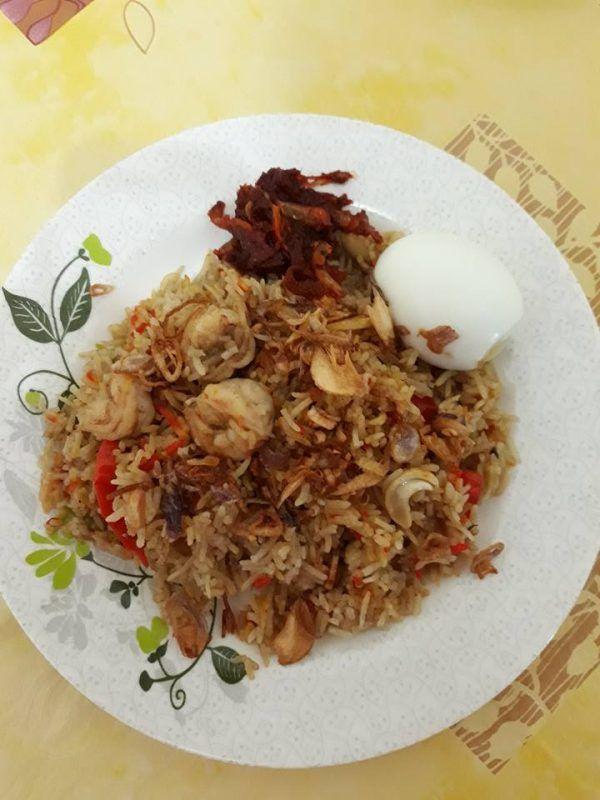 Resipi Nasi Briyani Udang Paling Sedap Mudah Tak Guna Banyak Bahan