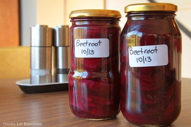 {Recipe} Home Made Pickled Beetroot | Country Life Experiment