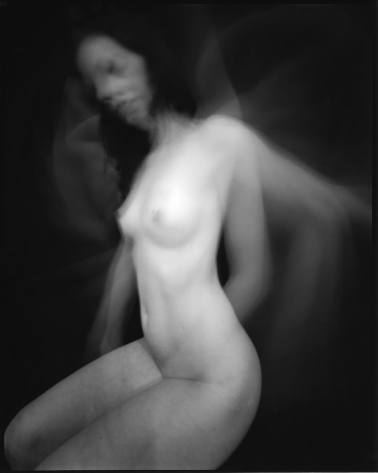 Untitled #8141 (from Transience Series 2008 -2015). Silver gelatin photograph from 8x10 pinhole negative.