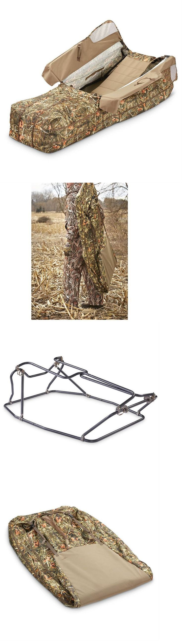 Blinds 177910: Layout Duck Blind Corn Field Camo Hay Straw Pop Up Hunting Geese Waterfowl Birds -> BUY IT NOW ONLY: $189.95 on eBay!
