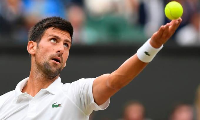 Novak Djokovic accedió a los cuartos de final de Wimbledon #Deportes #Tenis