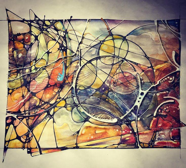 Delusion 123. #art #mentalprojector #ArtTransforms #neiroArt