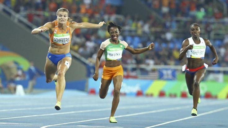 JO 2016 - Athlétisme / Finale des 200m: Ta Lou encore quatrième