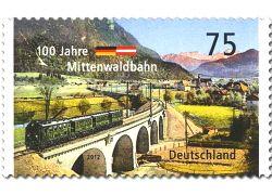 100 jahre Mittenwaldbahn Deutsche Post AG