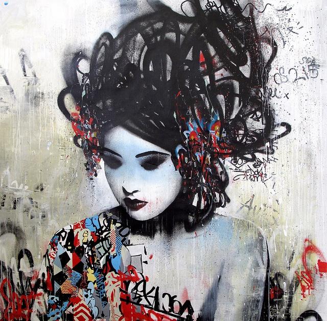 Hush, UK.Gold Sprays Painting, Gallery, Acrylics Painting, Boxes, Street Art, Belgium, Hush, Ink, Streetart
