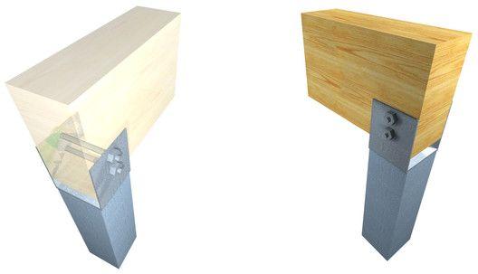 Straight Sectional Metal Pillar