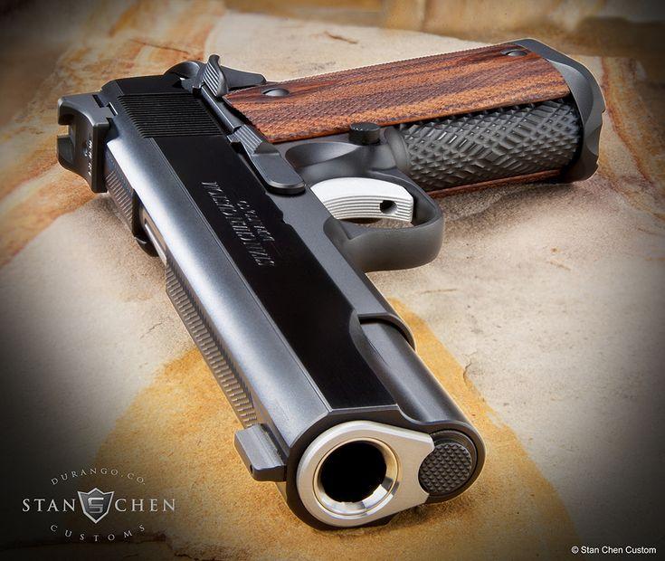 Stan Chen Custom 1911 Pistol