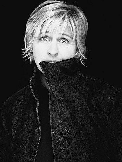 Ellen DeGeneres by Nigel Parry
