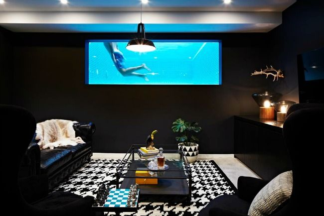 Chris Judd S Man Cave In The Man Cave Pinterest